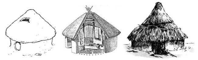 鉛筆畫立體房子